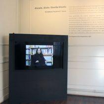 Exposición 'Círculo...Ciclo / Cecilia Vicuña' en Galería Casa Uno del Campus Creativo UNAB