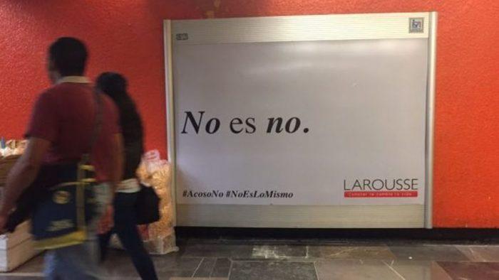 """""""Bombón es un dulce esponjado de azúcar, no una mujer"""": Larousse lanza aplaudida campaña contra el acoso"""