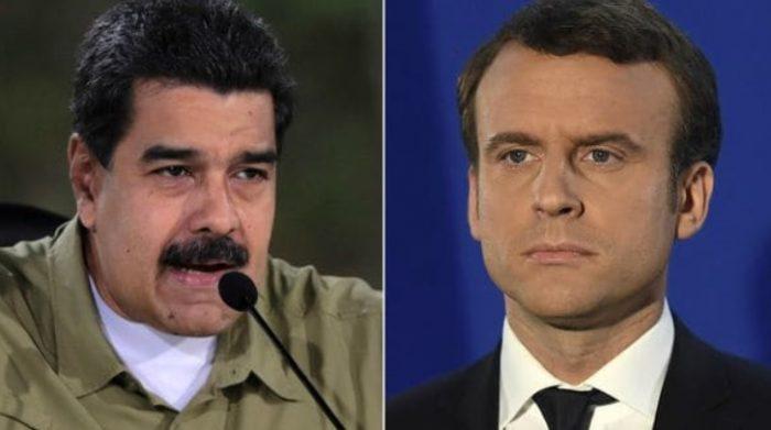 Macron califica el régimen de Maduro de