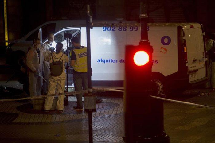 Muere autor del atentado de Barcelona abatido por la policía catalana