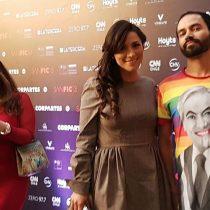 El look que impactó en la gala de Sanfic: polera con Sebastián Piñera Drag Queen