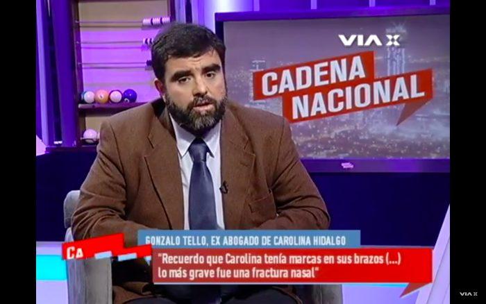 """Abogado de ex pareja de Ricardo Rincón asegura: """"Es culpable de violencia intrafamiliar"""""""