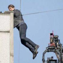 [VIDEO] Tom Cruise queda herido tras el rodaje de una escena de «Misión Imposible 6»