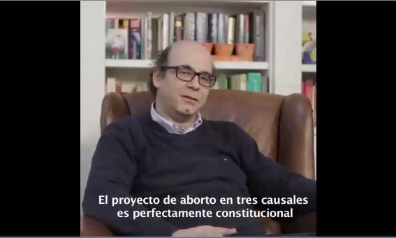 Abogado explica por qué proyecto aborto 3 causales es constitucional