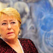Bachelet expresa su