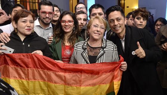 Bachelet sobre proyecto de Matrimonio Igualitario: