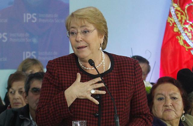 Bachelet por proyecto de aborto: