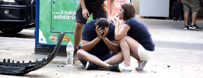 El miedo y la consternación se apoderan del centro de Barcelona