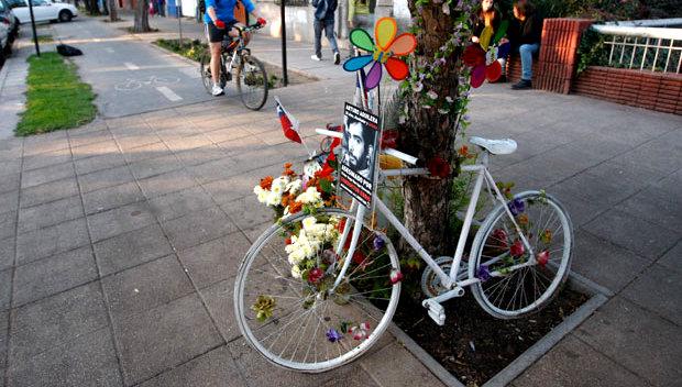 La sentida carta en memoria de Arturo Aguilera, ícono de los ciclistas urbanos muertos en Santiago
