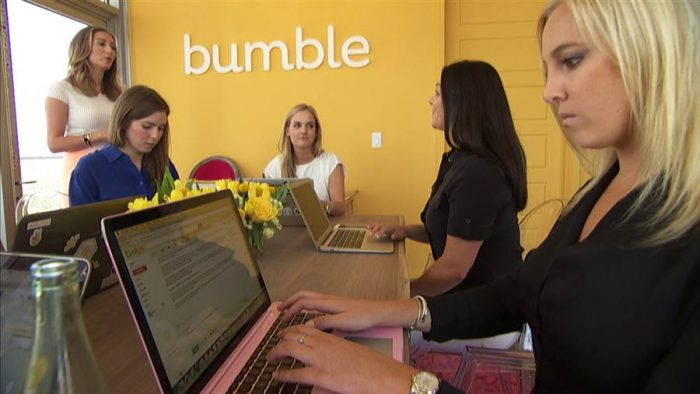 Así es Bumble, la app de citas donde sólo las mujeres pueden dar el primer paso