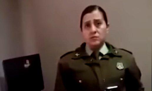 Carabineros sanciona a funcionaria que denunció que la estaban privando de su derecho a amamantar