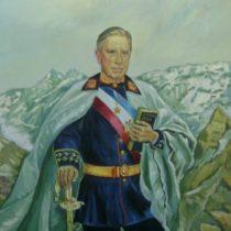 Pinochet a lo Napoleón: rematan cuadro del dictador por más de 2 millones de pesos