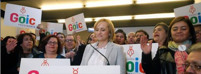 Cae Rincón: Carolina Goic retoma candidatura presidencial empoderada y anuncia veto a diputado
