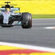 Hamilton es el más veloz del día en Spa y apunta al récord de