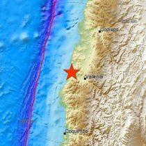 Seguidilla de temblores en Huasco tras sismo de 5.3 grados Richter