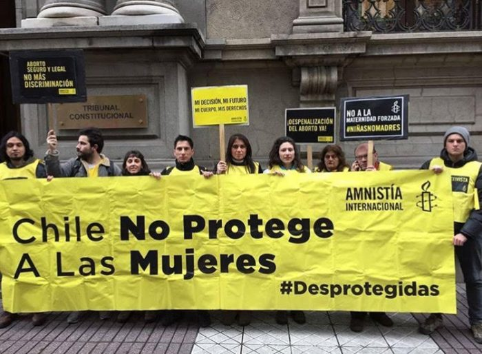 """Chile no protege a las mujeres"""
