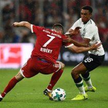[VIDEO] El 3 a 0 de un gran Liverpool que destrozó a un desconocido Bayern Munich con Vidal en la cancha