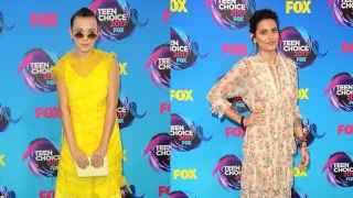 Estilo boho de Millie Bobby Brown y Paris Jackson en Teen Choice Awards ¿Cuál te gusta más?