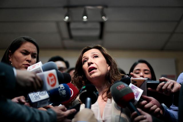 Ex directora del Sename declara como imputada por muerte de menores al interior del servicio
