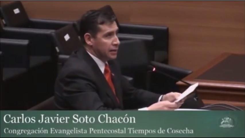 Los argumentos bíblicos del Pastor Soto en el TC