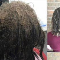 Las peluqueras que rehusaron afeitarle la cabeza a una adolescente que sufría de depresión