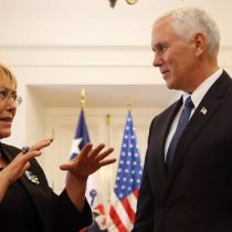 Vicepresidente de EEUU pide a Bachelet