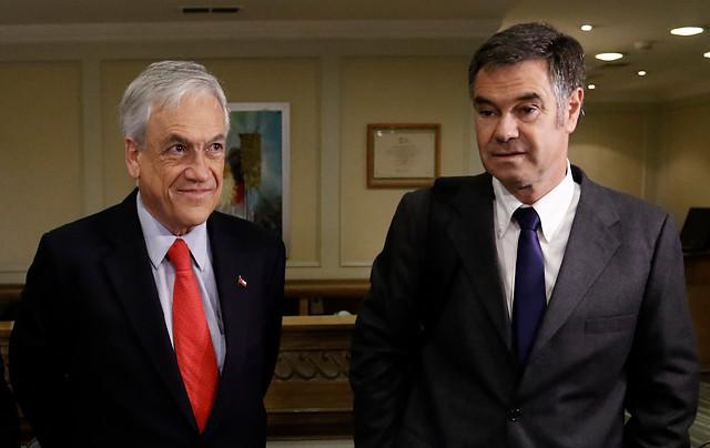 Piñera y Ossandón cada vez más cerca: jefes programáticos recalcan coincidencias tras primera reunión