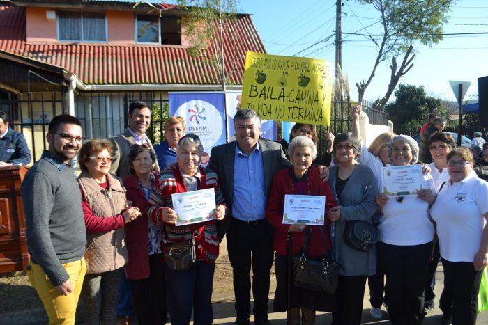 Se dio inicio a programa Más Adultos Mayores Autovalentes en CAIRAM de Limache