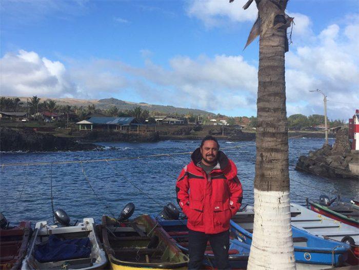 Cristian Rapu y el lento camino de Rapa Nui por la conservación de su ecosistema
