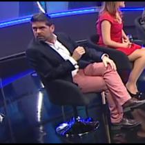[VIDEO] Indignación en redes sociales por vulgar gesto de Romai Ugarte tras anuncio de su nueva compañera de trabajo