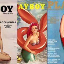 ¿Cómo se verían las Princesas Disney en la portada de Playboy?