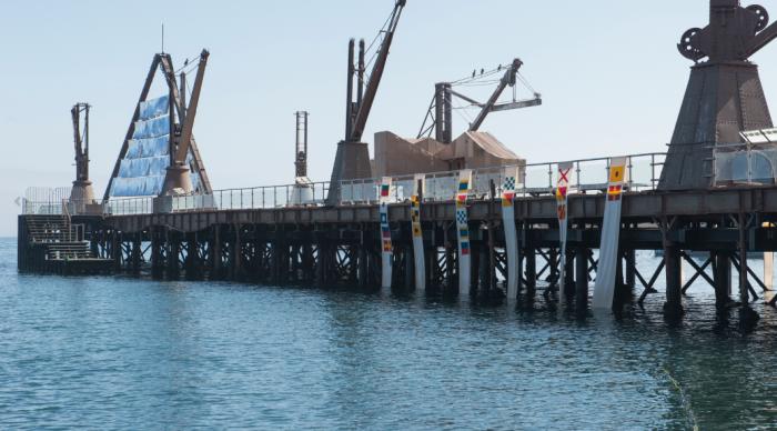 SACO 6 inaugura exposición internacional en el Muelle Histórico de Antofagasta