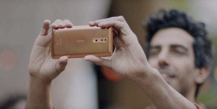 Cómo el Nokia 8, la nueva apuesta de los ex empleados de la empresa finlandesa, quiere reinventar la selfie
