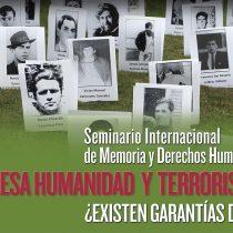 Seminario internacional sobre derechos humanos y terrorismo de Estado en Villa Grimaldi