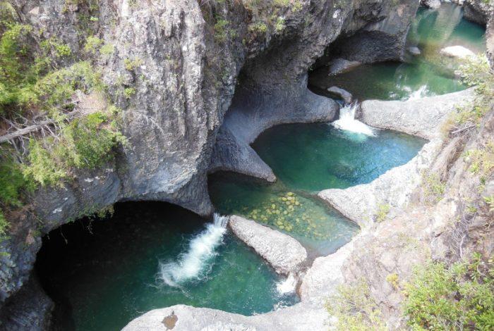 Electrade, la hidoeléctrica que amenaza el río sagrado de las Siete Tazas