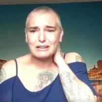 """""""Luchando por estar viva"""": el impactante video de Sinead O'Connor donde cuenta que está al borde del suicidio"""