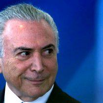 Congreso brasileño decidirá este miércoles si Temer será enjuiciado por corrupción
