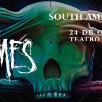 """Banda sueca In Flames presentará su último disco """"Battles"""" en Chile"""