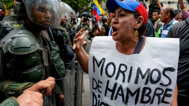 Llegan funcionarios de la ONU a Venezuela y el gobierno monta una escenografía.