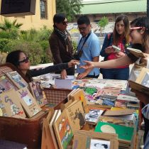 V Encuentro Internacional de Editoriales Cartoneras en Biblioteca de Santiago