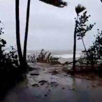 [VIDEO] Poderoso huracán Irma deja a más de mil casas afectadas en R. Dominicana y viaja rumbo a Miami