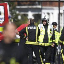 Dos detenidos por el atentado de Londres, pero la alerta baja a