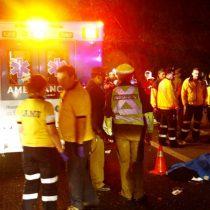 Dos personas murieron tras ser atropelladas por un conductor ebrio