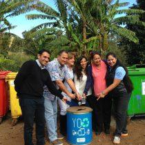 Chilenter trae cinco toneladas de residuos electrónicos desde Isla de Pascua junto a municipio