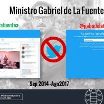 Nuevo ministro de la Segpres eliminó su cuenta en Twitter