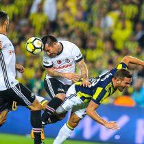 Gary Medel se lesionó jugando por Besiktas y llegaría con lo justo a la Copa América