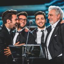 Exitoso trío vocal Il Volo de Italia tocará en Chile