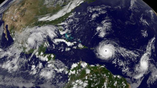 Huracán Irma aumenta su intensidad y amenaza Cuba y Florida