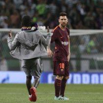 [VIDEO] Messi recibido como