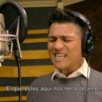 """[VIDEO] """"Mi Paz les doy"""": Américo reaparece interpretando himno de la visita del Papa Francisco a Chile"""
